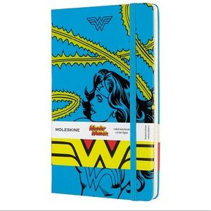 Moleskine Wonder Woman Large Ruled Notebook!